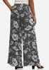 Floral Stripe Palazzo Pants alternate view