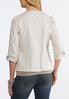Draped Linen Jacket alternate view