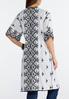 Plus Size Embroidered Kimono Duster alternate view