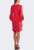Plus Size Ruffled Sleeve Sheath Dress alternate view