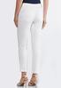 Petite White Distressed Jeans alternate view
