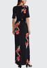 Plus Petite Floral Tie Waist Maxi Dress alternate view