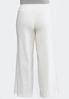 Plus Size Wide Leg Linen Pants alternate view