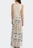 Plus Size Lace And Print Maxi Dress alternate view