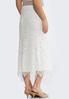 Scalloped Lace Maxi Skirt alternate view