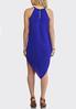 Plus Size Paisley Hanky Hem Dress alternate view