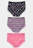 Plus Size 3 Piece High Waist Panty Set alternate view