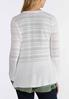 Plus Size Peplum Bell Sleeve Sweater alternate view