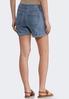 Cuffed Denim Shorts alternate view