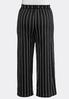 Plus Petite Stripe Belted Palazzo Pants alternate view