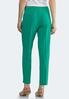 Green Slim Ankle Pants alternate view