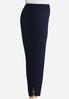 Plus Size Embellished Ankle Pants alternate view