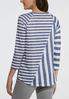 Plus Size Sublime Stripe Top alternate view