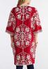 Embroidered Duster Kimono alternate view