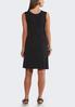 Plus Size Macrame Trim Dress alternate view
