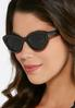 Stud Trim Cateye Sunglasses alternate view