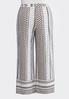 Plus Size Dotted Palazzo Pants alternate view