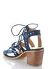 Lace Up Gladiator Heeled Sandals alternate view