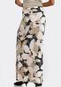 Plus Brushed Petal Maxi Skirt alternate view