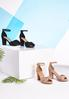 Bow Vamp Heeled Sandals alternate view