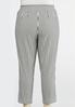 Plus Size Stripe Bengaline Pants alternate view