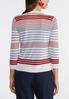 Plus Size Americana Cardigan Sweater alternate view