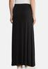 Plus Size Solid Knit Maxi Skirt alternate view