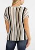 Knot Front Stripe Dolman Sweater alternate view