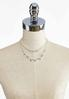 Rhinestone Chain Short Necklace alternate view