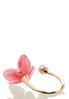 Pink Lucite Flower Ring alternate view