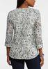 Plus Size Lacy Pullover Top alternate view