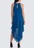 Plus Petite Embellished Flyaway Dress alternate view