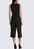 Cropped Belted Jumpsuit alternate view