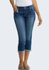 Cropped Stitch Pocket Jeans alternate view