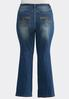 Plus Size Slimming Bootcut Jeans alternate view