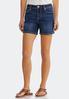Sunburst Pocket Denim Shorts alternate view