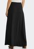 Black Tie- Waist Maxi Skirt alternate view