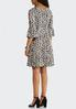 Plus Size Embellished Animal Print Dress alternate view