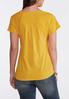 Plus Size Solid Shirttail Tee alternate view
