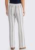 Muted Stripe Linen Pants alternate view