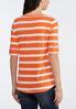 Orange Stripe Top alternate view