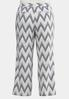 Plus Size Printed Linen Pants alternate view