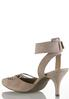 Wide Width Woven Ankle Strap Pumps alternate view