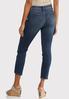 Button Detail Denim Jeans alternate view