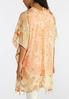 Golden Paisley Tassel Kimono alternate view