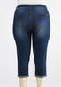 Plus Size Cropped Shape Enhancing Skinny Jeans alternate view
