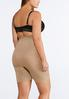 Plus Extended Nude Seamless High Waist Shorts alternate view