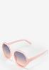 Pink Hexagon Sunglasses alternate view