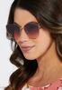 Colored Lens Cateye Sunglasses alternate view