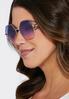 Ombre Hexagon Sunglasses alternate view
